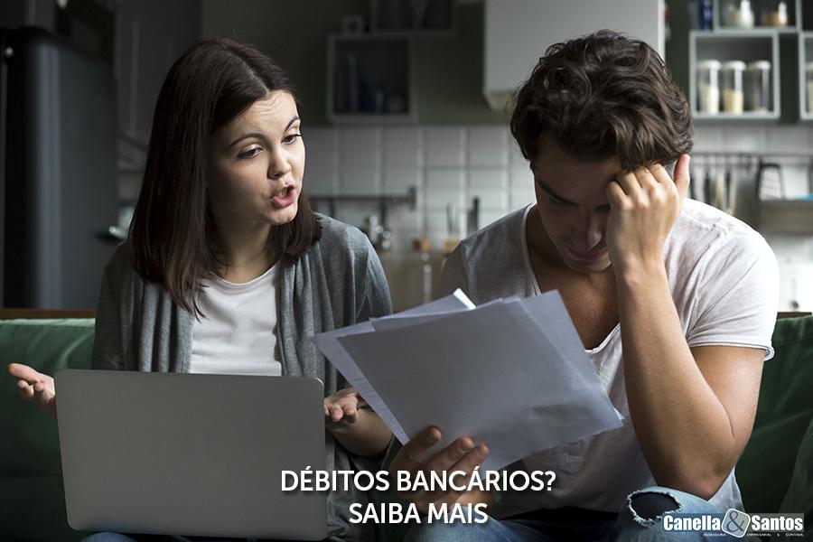 DÉbitos BancÁrios - Blog -  Canella E Santos Assessoria Empresarial E Contábil