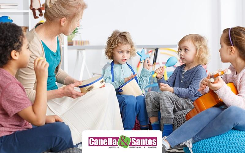 Tudo Sobre Como Abrir Uma Creche Particular - Notícias E Artigos Contábeis Em Volta Redonda - RJ | Canella E Santos