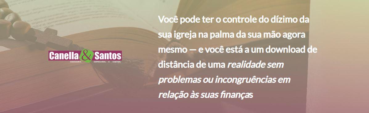 Controle De Dizimo - Contabilidade em Volta Redonda - RJ | Canella & Santos