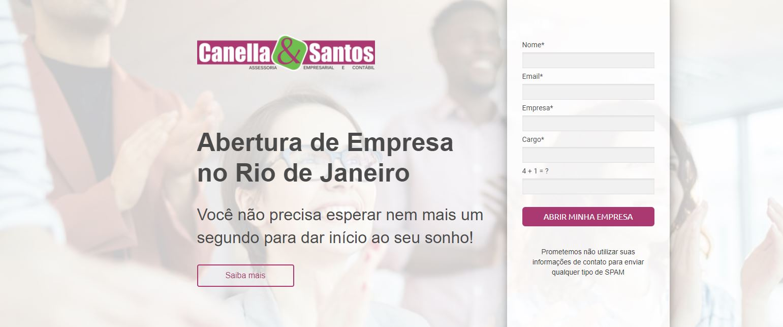 Abertura De Empresa No Rio - Contabilidade em Volta Redonda - RJ | Canella & Santos